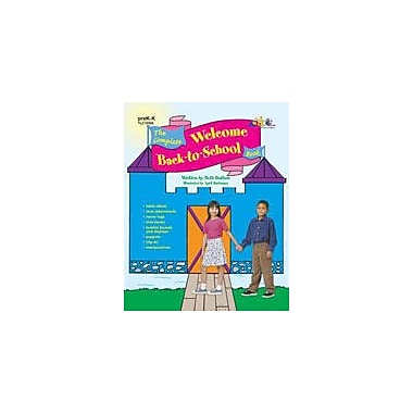 Teaching and Learning Company Complete Welcome Back-To-School Book (PK-K) Workbook, Preschool - Kindergarten [Enhanced eBook]
