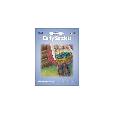 Teaching and Learning Company Early Settlers History Workbook, Grade 1 - Grade 4 [eBook]