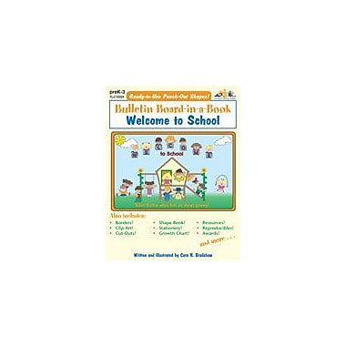 Teaching and Learning Company Welcome to School Other Workbook, Preschool - Grade 3 [eBook]