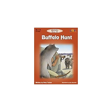 Teaching and Learning Company Buffalo Hunt Social Studies Workbook, Grade 1 - Grade 4 [Enhanced eBook]
