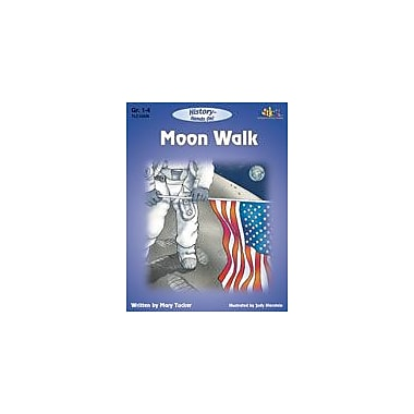 Teaching and Learning Company Moon Walk Science Workbook, Grade 1 - Grade 4 [Enhanced eBook]