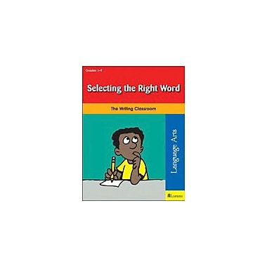 Teaching and Learning Company Selecting the Right Word Reading & Writing Workbook, Grade 1 - Grade 8 [eBook]
