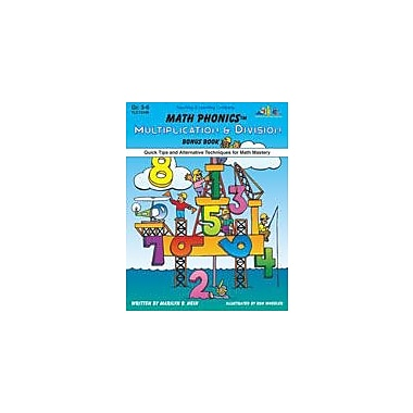 Teaching and Learning Company Math Phonics Multiplication & Division Math Workbook, Grade 3 - Grade 6 [Enhanced eBook]
