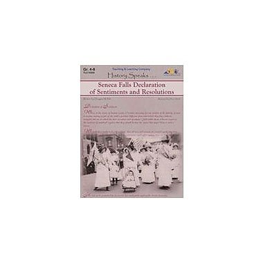 Teaching and Learning Company Seneca Falls Declaration of Sentiments and Resolutions Workbook [Enhanced eBook]