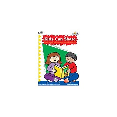 Teaching and Learning Company Kids Can Share Character & Social Skills Workbook, Preschool - Kindergarten [Enhanced eBook]