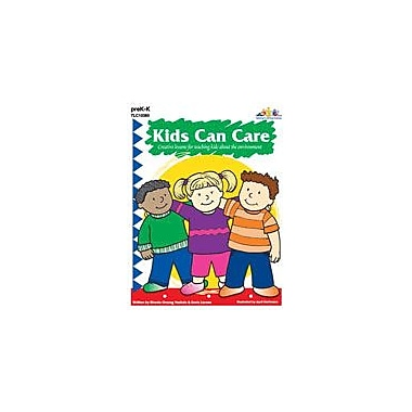 Teaching and Learning Company Kids Can Care Character & Social Skills Workbook, Preschool - Kindergarten [eBook]