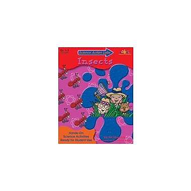 Teaching and Learning Company Science Action Labs Insects Science Workbook, Grade 1 - Grade 3 [eBook]