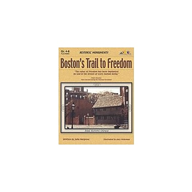 Teaching and Learning Company Boston's Trail to Freedom History Workbook, Grade 4 - Grade 8 [Enhanced eBook]