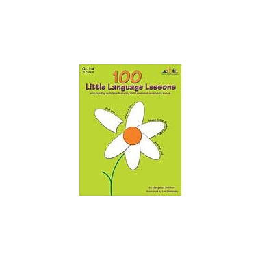 Teaching and Learning Company 100 Little Language Lessons Language Arts Workbook, Grade 1 - Grade 4 [eBook]