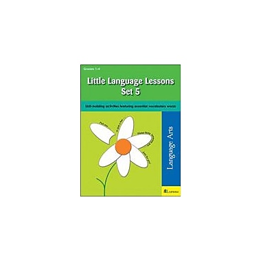 Teaching and Learning Company Little Language Lessons Set 5 Reading & Writing Workbook, Grade 1 - Grade 4 [eBook]