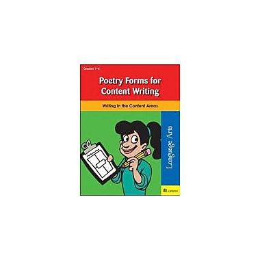 Teaching and Learning Company Poetry Forms For Content Writing Reading & Writing Workbook, Grade 1 - Grade 8 [eBook]