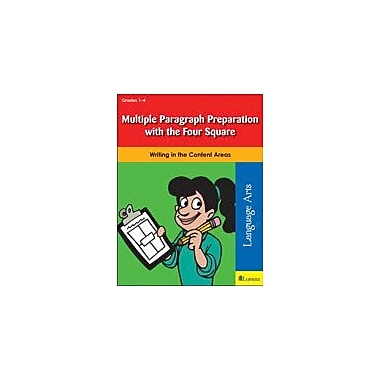 Teaching and Learning Company Multiple Paragraph Preparation With the Four Square Workbook, Grade 1 - Grade 4 [eBook]