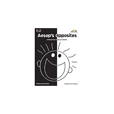 Teaching and Learning Company Aesop's Opposites Language Arts Workbook, Grade 1 - Grade 3 [Enhanced eBook]