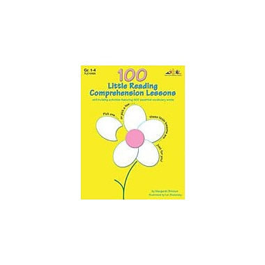 Teaching and Learning Company 100 Little Reading Comprehension Lessons Workbook, Grade 1 - Grade 4 [Enhanced eBook]