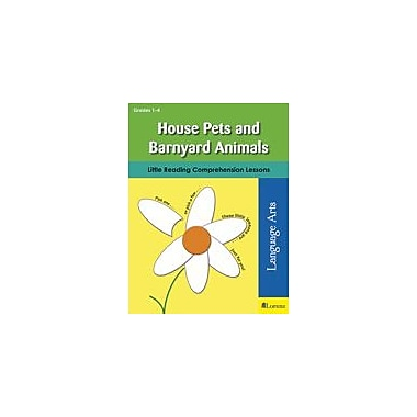 Teaching and Learning Company House Pets and Barnyard Animals Reading & Writing Workbook, Grade 1 - Grade 4 [eBook]