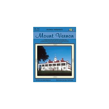 Teaching and Learning Company Mount Vernon History Workbook, Grade 4 - Grade 8 [eBook]