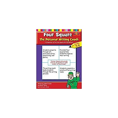Teaching and Learning Company Four Square: the Personal Writing Coach For Grades 7-9 Workbook, Grade 7 - Grade 9 [eBook]