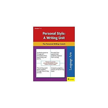 Teaching and Learning Company Personal Style: A Writing Unit Reading & Writing Workbook, Grade 7 - Grade 9 [eBook]