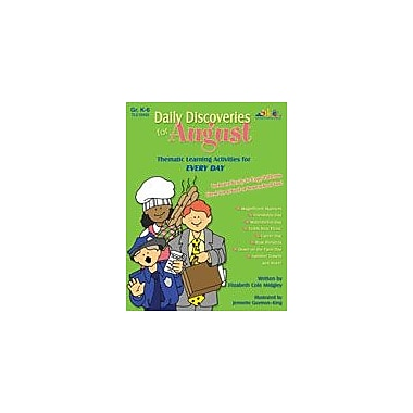 Teaching and Learning Company Daily Discoveries For August Art & Music Workbook, Kindergarten - Grade 5 [Enhanced eBook]