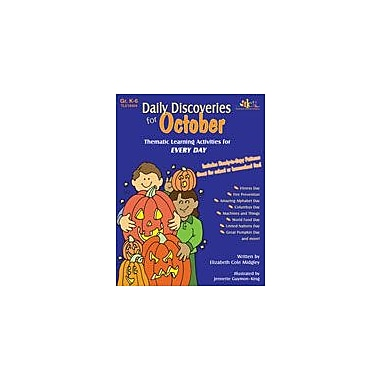 Teaching and Learning Company Daily Discoveries For October Art & Music Workbook, Kindergarten - Grade 5 [Enhanced eBook]