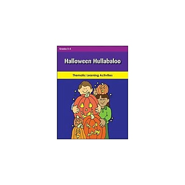 Teaching and Learning Company Halloween Hullabaloo Cross-Curricular Workbook, Kindergarten - Grade 5 [eBook]