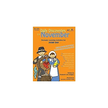 Teaching and Learning Company Daily Discoveries For November Other Workbook, Kindergarten - Grade 5 [eBook]