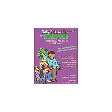 Teaching and Learning Company Daily Discoveries For March Art & Music Workbook, Kindergarten - Grade 5 [Enhanced eBook]