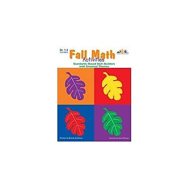 Teaching and Learning Company Seasonal Math Activities, Fall Math Workbook, Grade 1 - Grade 3 [eBook]