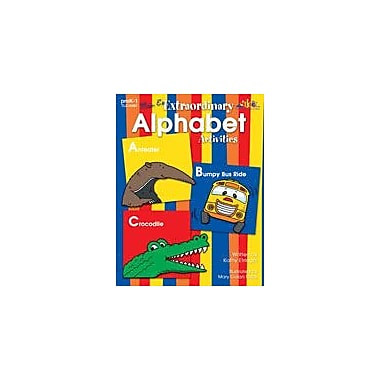 Teaching and Learning Company Mrs. E's Extraordinary Alphabet Activities Language Arts Workbook, Preschool - Grade 1 [eBook]