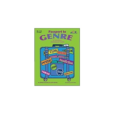 Teaching and Learning Company Passport to Genre Language Arts Workbook, Grade 4 - Grade 6 [eBook]