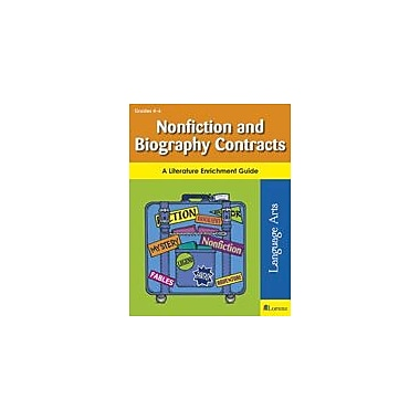 Teaching and Learning Company Nonfiction and Biography Contracts Reading & Writing Workbook, Grade 4 - Grade 6 [eBook]