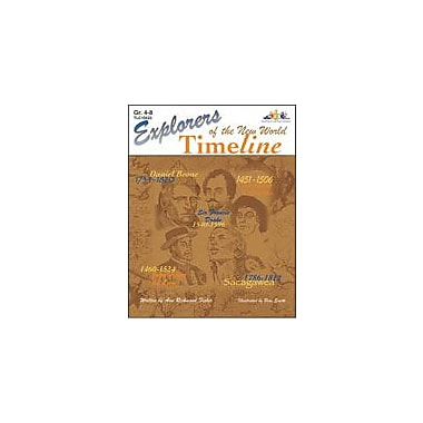 Teaching and Learning Company Explorers of the New World Time Line History Workbook, Grade 4 - Grade 8 [Enhanced eBook]