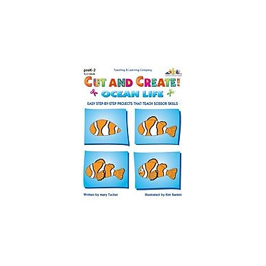Teaching and Learning Company Cut and Create! Ocean Life Art & Music Workbook, Preschool - Grade 2 [Enhanced eBook]
