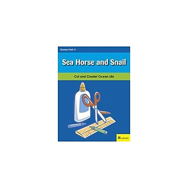 Teaching and Learning Company Sea Horse and Snail Art & Music Workbook, Kindergarten - Grade 2 [eBook]