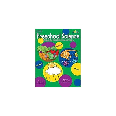Teaching and Learning Company Preschool Science Science Workbook, Preschool - Kindergarten [Enhanced eBook]