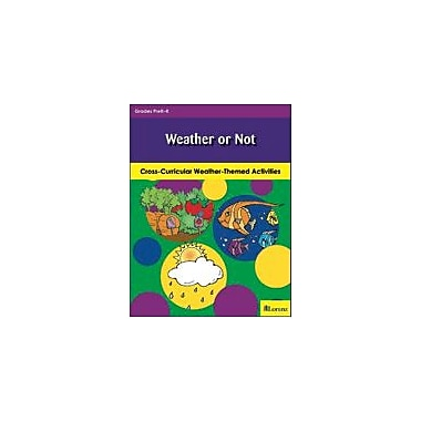 Teaching and Learning Company Weather or Not Science Workbook, Kindergarten [eBook]