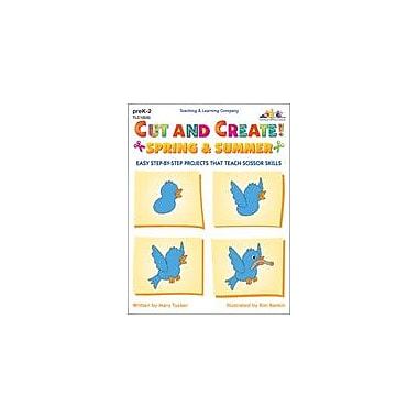 Teaching and Learning Company Cut and Create! Spring & Summer Art & Music Workbook, Preschool - Grade 2 [Enhanced eBook]