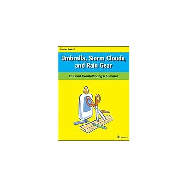 Teaching and Learning Company Umbrella, Storm Clouds, and Rain Gear Art & Music Workbook, Kindergarten - Grade 2 [eBook]