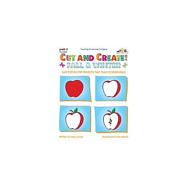 Teaching and Learning Company Cut and Create! Fall & Winter Art & Music Workbook, Preschool - Grade 2 [Enhanced eBook]