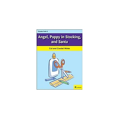 Teaching and Learning Company Angel, Puppy In Stocking, and Santa Art & Music Workbook, Kindergarten - Grade 2 [eBook]