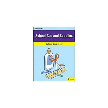 Teaching and Learning Company School Bus and Supplies Art & Music Workbook, Kindergarten - Grade 2 [eBook]