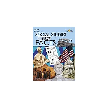 Teaching and Learning Company Social Studies Fast Facts Social Studies Workbook, Grade 3 - Grade 6 [eBook]