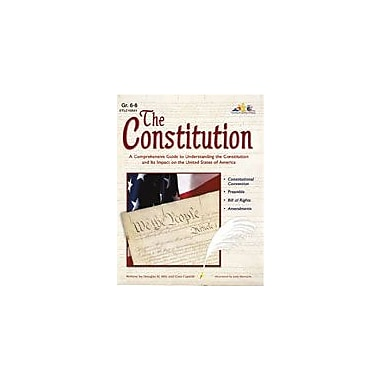 Teaching and Learning Company The Constitution Social Studies Workbook, Grade 6 - Grade 8 [eBook]