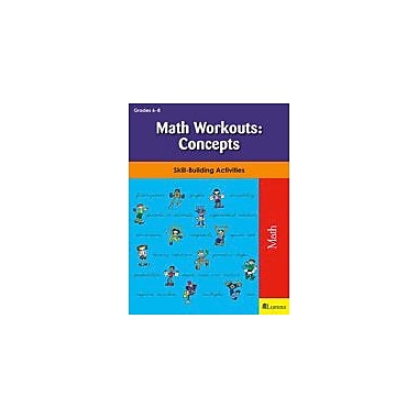 Teaching and Learning Company Math Workouts: Concepts Math Workbook, Grade 6 - Grade 8 [eBook]