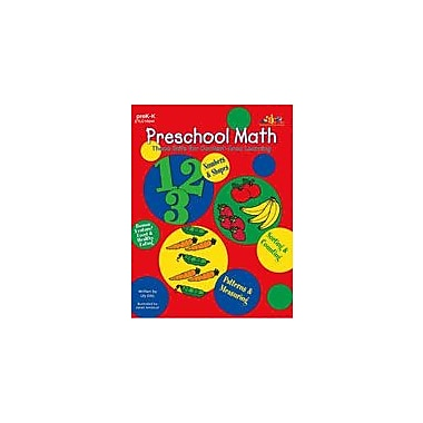 Teaching and Learning Company Preschool Math Math Workbook, Preschool - Kindergarten [Enhanced eBook]