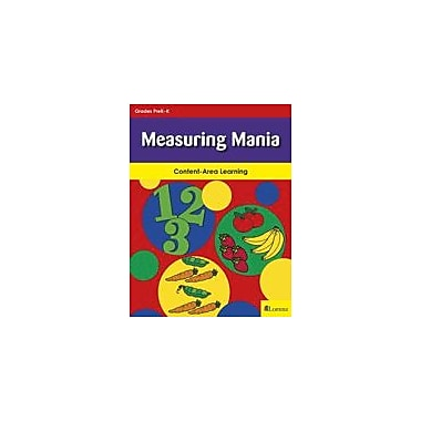 Teaching and Learning Company Measuring Mania Math Workbook, Kindergarten [eBook]