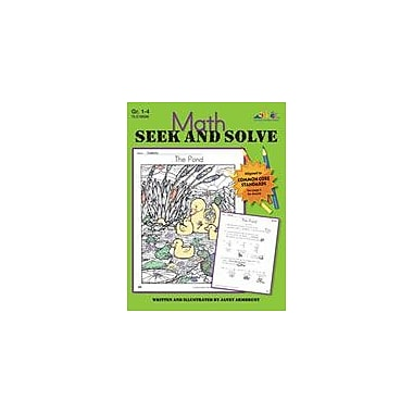 Teaching and Learning Company Math Seek and Solve Math Workbook, Grade 1 - Grade 4 [Enhanced eBook]