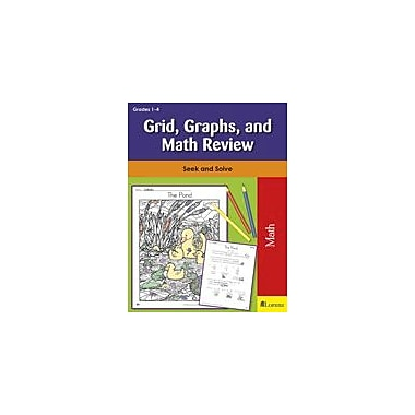 Teaching and Learning Company Grid, Graphs, and Math Review Math Workbook, Grade 1 - Grade 4 [eBook]