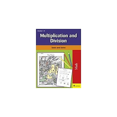 Teaching and Learning Company Multiplication and Division Math Workbook, Grade 1 - Grade 4 [eBook]