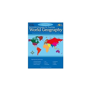 Teaching and Learning Company Successful Strategies for Teaching World Geography Workbook, Grade 6 - Grade 8 [Enhanced eBook]